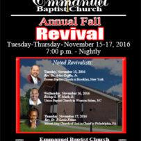 2016 Revival